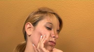 Slap and Kick / Faceslapping -By Domina Cindy Hope And Her Slave Linda Mayhem FULL