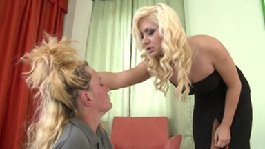 Hairpulling Girls / Hairpulling Girls -By Domina Lea Lexis And Her Slave Gina