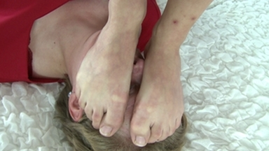 Fight Girls / Trampleface -By Domina Scarlett And Her Slave Ugly Simone
