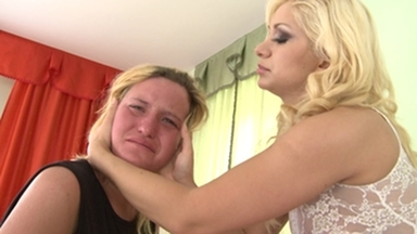 Faceslapping -By Domina Lea Lexis And Her Slave Gina