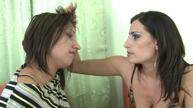 Faceslapping -By Domina Sensual Jane And Her Slave Blanka Hot