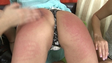 Spanking Girls -By 2 Dominas And Slave Blanka Hot