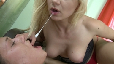 Spitting Girls -By Domina Lea Lexis And Her Slave Linda Ray