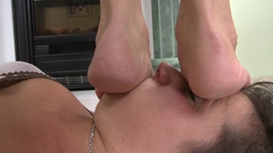 Trampleface -By Domina Sensual Jane And Her Slave Blanka Hot