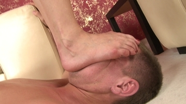 Trampleface Boy -By Domina Lea Lexis And Her Slave Gary Corona