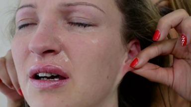 Ear Fetish -By Domina Dorothy Black And Her Slave Melania