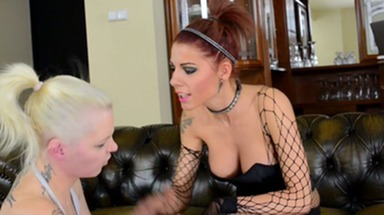 Faceslapping -By Domina Lia And Her Slave Carola