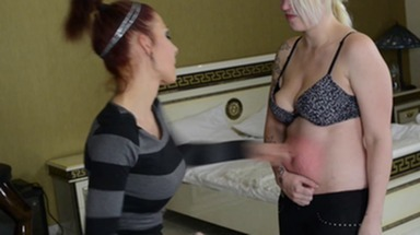 Stomach Punching -By Domina Lia and Carola