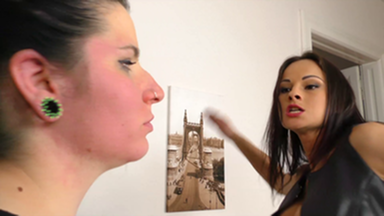 Slap and Kick / FACE SLAPPING POWER SLAPS - WITH TOP DOMINA ABBIE CAT