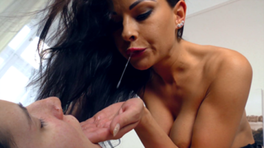 Spitt Swallow Erotic - Swallow All My Luxus Spit! By Top Model Abbie Cat