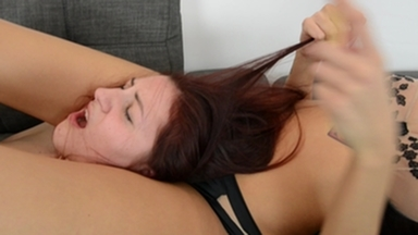 Hair Pulling Mega Extreme - Real Hair Swallow - I Will Pull Out Every Little Piece Of Your Ugly Fucking Hair By Domina Rea And Slave Meg Magic