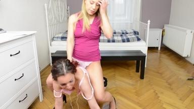 Verbal Humiliation And Mixed Domination -  Nikki And Donatella Avantador