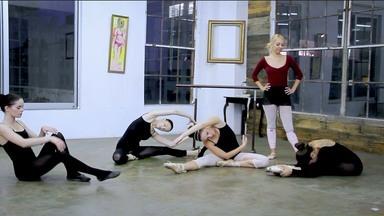 Ballerina Feet Fetish Lesbian Threesome