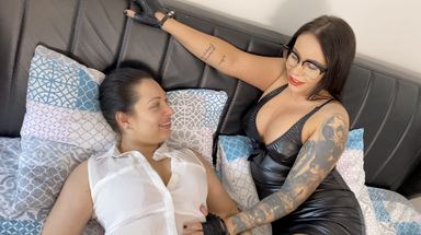Spit Erotic Swallow - Swallow All Of My Tasty Spit Little Bitch By Top Babes Nilla Black And Rosalina Love